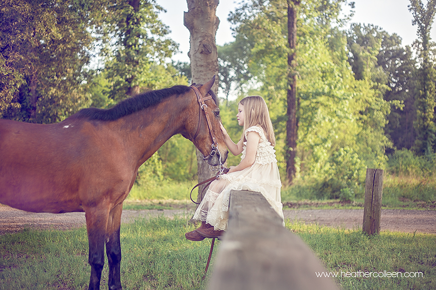 Child photography for horseback riders longview tx